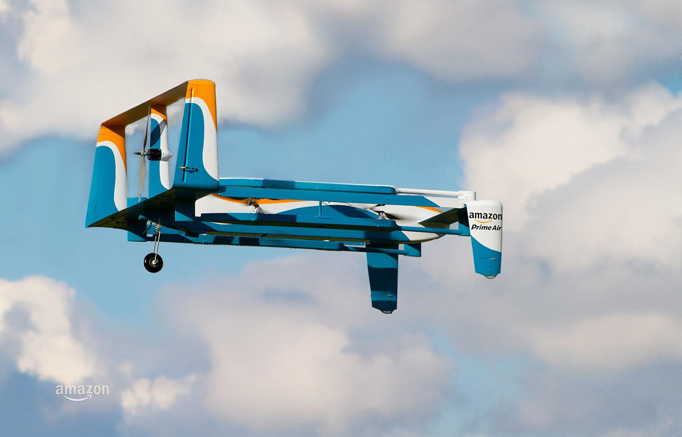 Il dirigente di Amazon spiega come i fuchi di mandata aria di perfezione funzioneranno