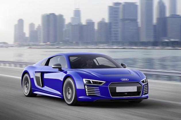 El deseado Audi R8 e-tron ahora conduce él solito