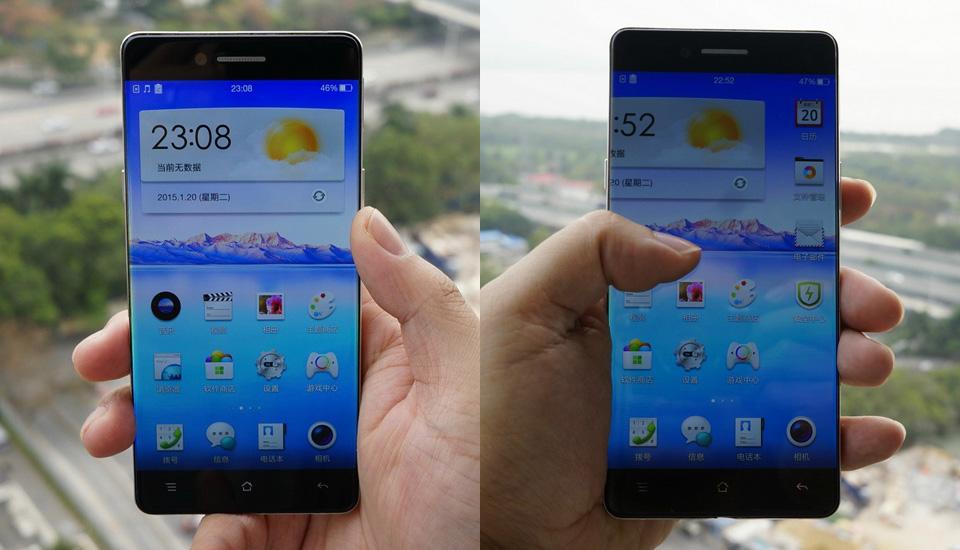 Sí, esta foto es real: Oppo tiene un nuevo teléfono casi sin bisel (video)