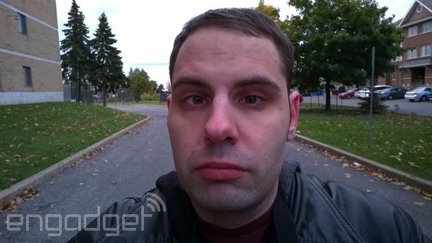 Lumia 735 selfie
