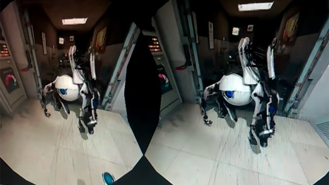 Valve's Aperture VR demo