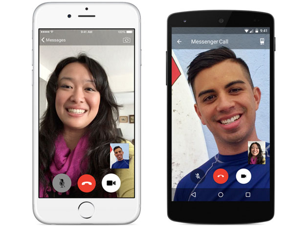 Video calls in Facebook Messenger