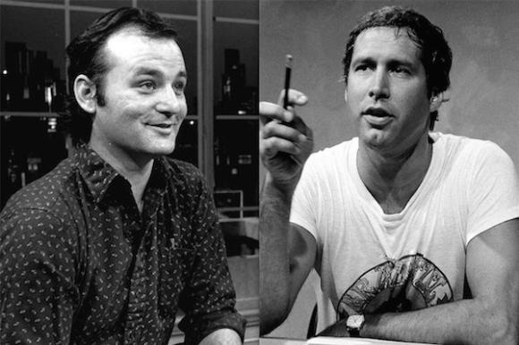 comedians feud showdown, bill murray chevy chase
