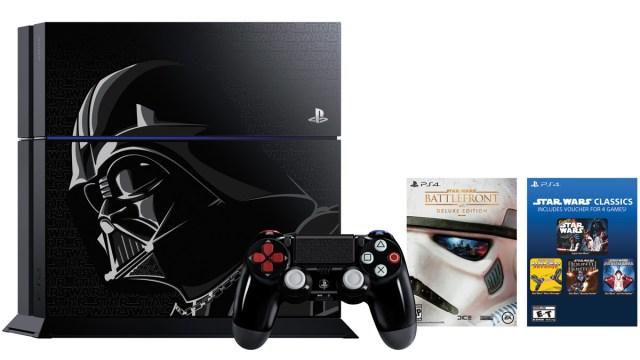 Darth Vader limited edition PS4