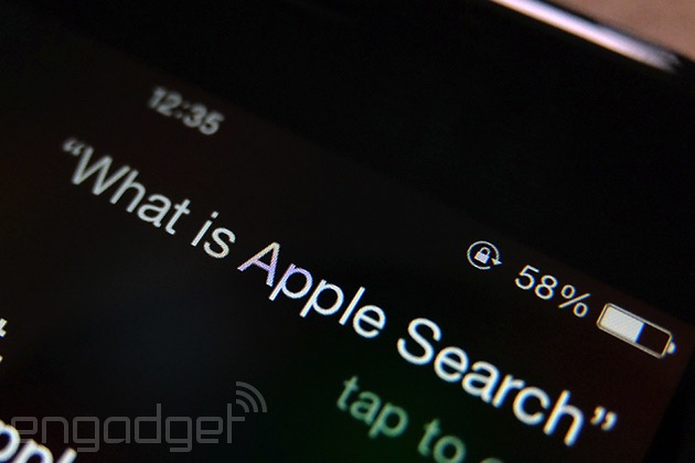 Apple Search Siri