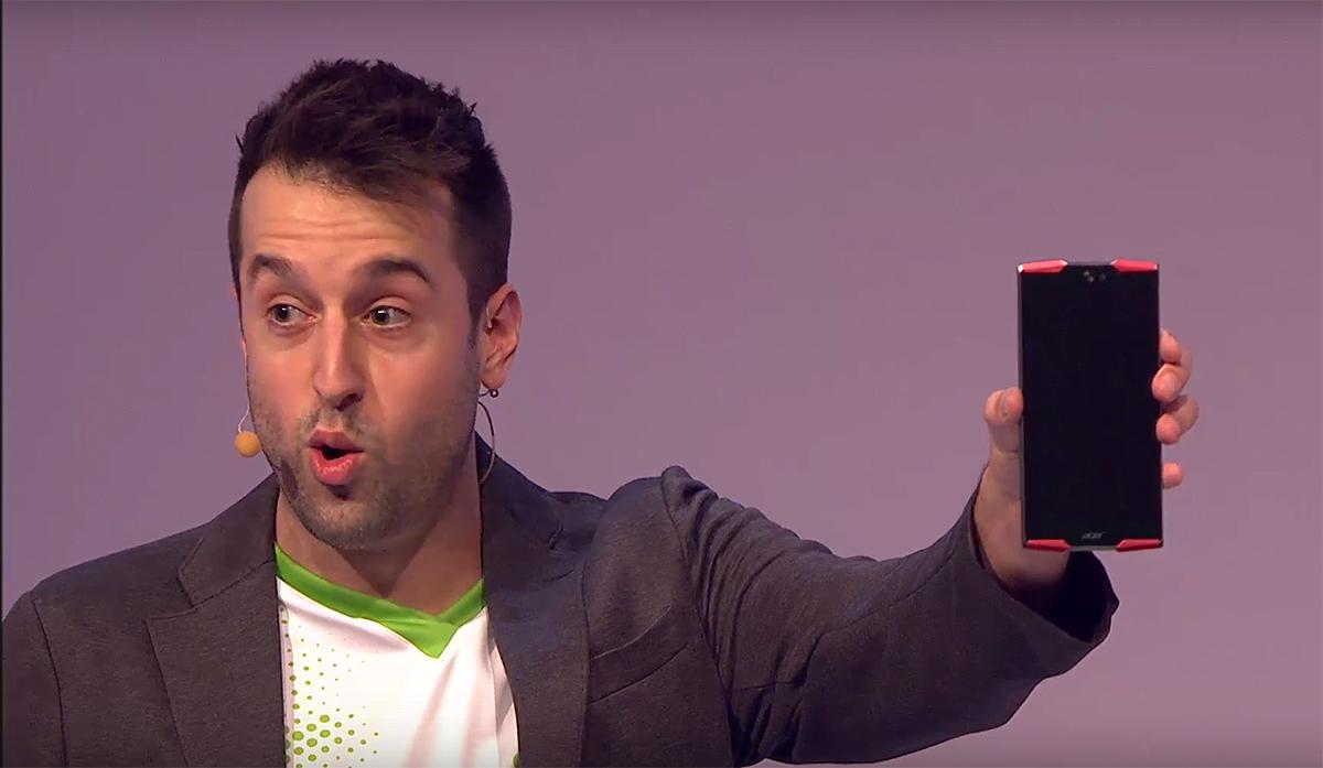 Acer se atreve con los 10 núcleos con este teléfono jugón de 6 pulgadas