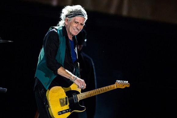 Rock Star Debauchery, Keith Richards