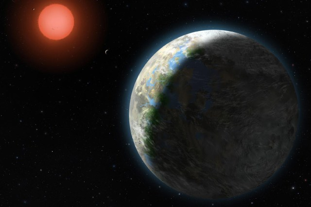 A theoretical exoplanet