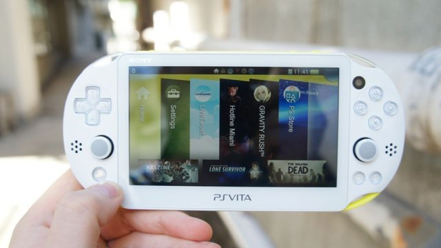 Sony's current-generation PlayStation Vita
