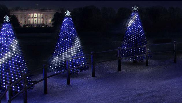 I bambini possono programmare le luci dellalbero di Natale della Casa Bianca di questo anno