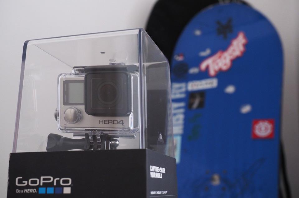 Omaggio BRITANNICO di Engadget: vinca una cortesia delledizione del nero di GoPro Hero4 di Tagstr