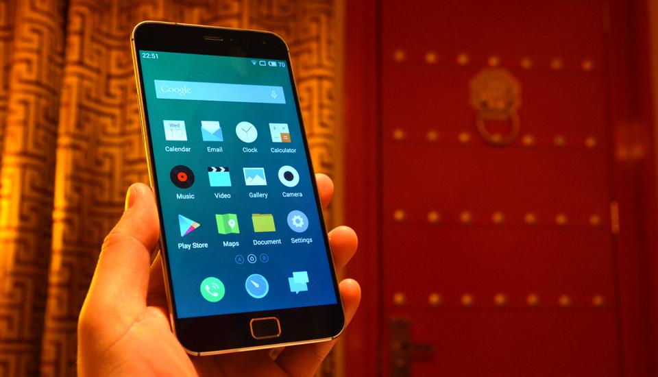 """Meizu MX4 va pro con lo schermo """"2K+"""", il lettore di impronta digitale e """"il suono della retina"""""""