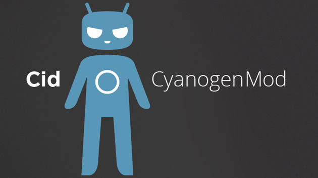 CyanogenMod's mascot, Cid