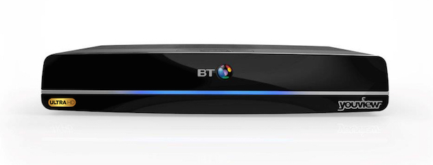 BT Sport Ultra HD Box