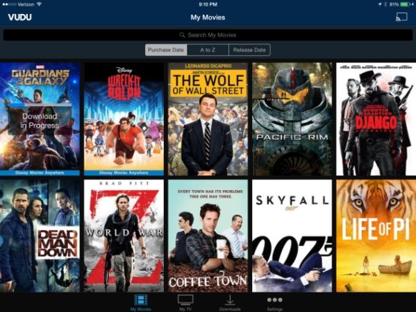 La biblioteca digitale del film di Vudu è ricostruita e più facile da usare sullIOS