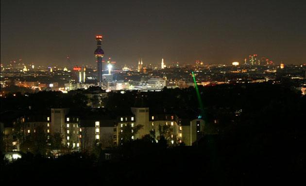 I ricercatori torcono i laser per irradiare i dati attraverso Vienna