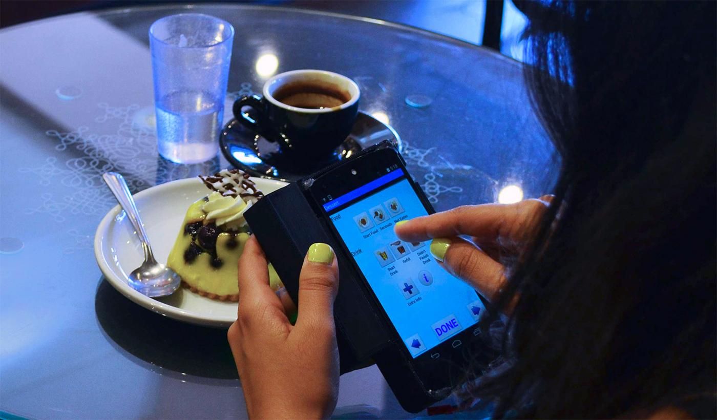 Accessorio 3D scans di Smartphone il vostro alimento per contare le calorie