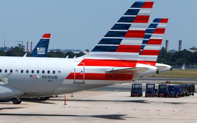 Flights stuck in Washington, DC