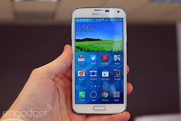 Samsung vendió 4 millones de Galaxy S5 menos respecto al S4