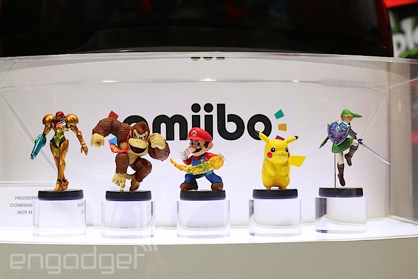 Nintendo ha vendido 2,6 millones de figuritas amiibo