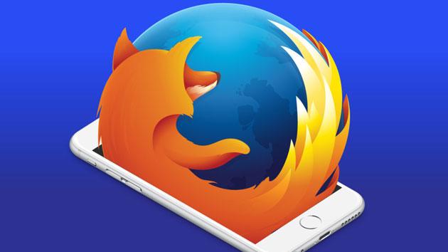 Firefox e iOS entrelaçados