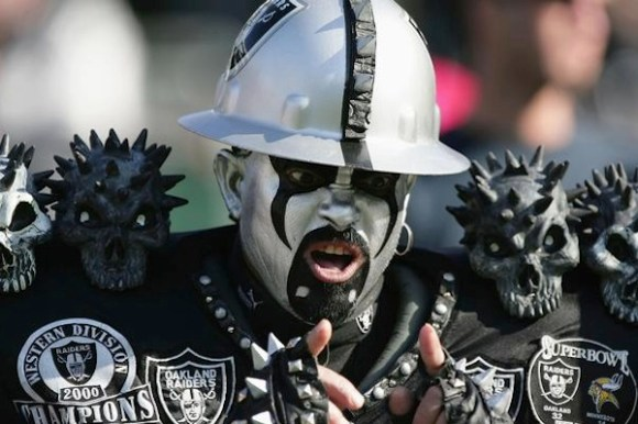 worst fan bases on earth, worst fan bases, raider nation
