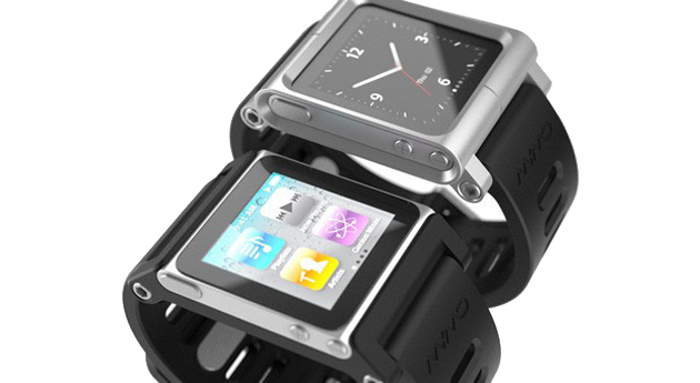 TikTok and LunaTik iPod nano watch cases