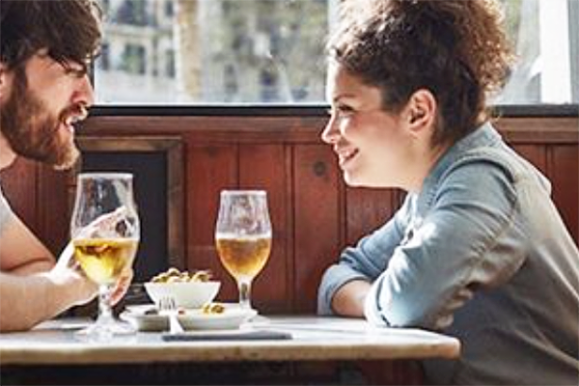 Pros and Cons of First Dates, beer date