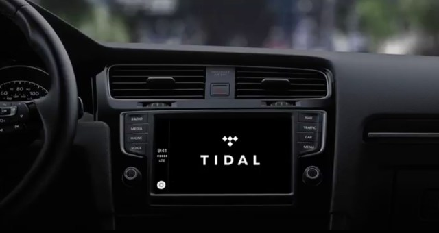 Tidal now works with Apple CarPlay