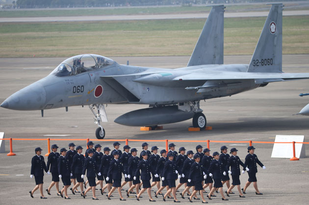 A Japanese variant of the F-15 Eagle