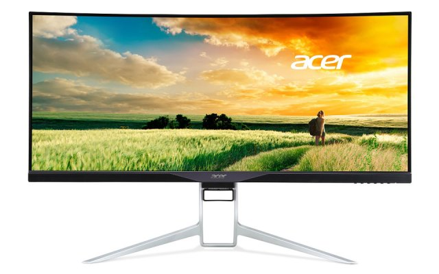 Acer's XR341CK curved display