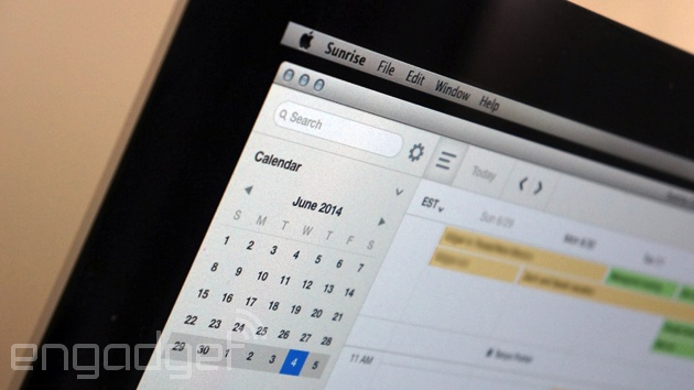 Sunrise Calendar for Mac
