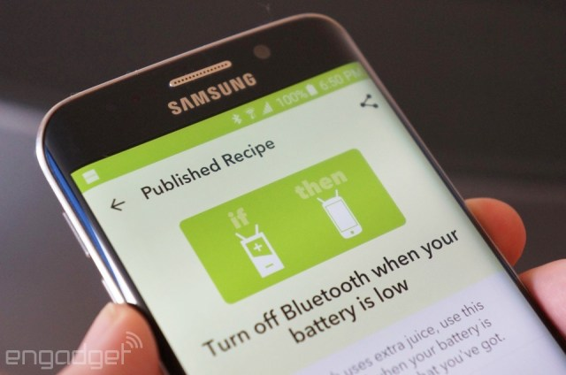 IF for Android with a battery recipe