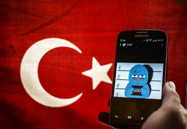 Turkey's government doesn't like Twitter right now