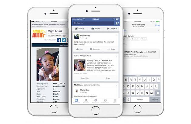 Facebook vi avviserà quando i bambini vanno mancare nella vostra area
