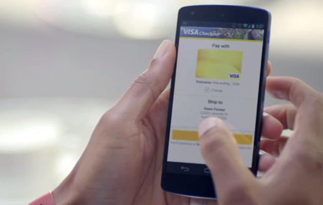 Visa Checkout on a Nexus 5
