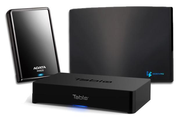 Omaggio di Engadget: vinca sopra   la cortesia del pacchetto di HDTV dellaria di Tablo!