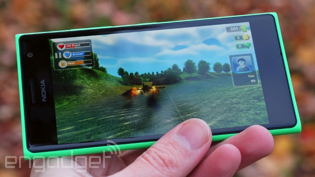 Gaming on the Lumia 735