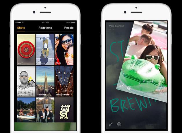 Il concorrente dello Snapchat di Facebook vuole le vostre storie devaporazione della foto