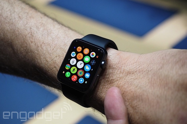 Apple Watch in action
