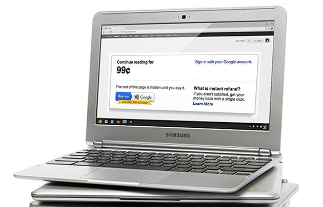 Il portafoglio di Google non vi lascerà comprare le merci digitali dopo marzo 2015