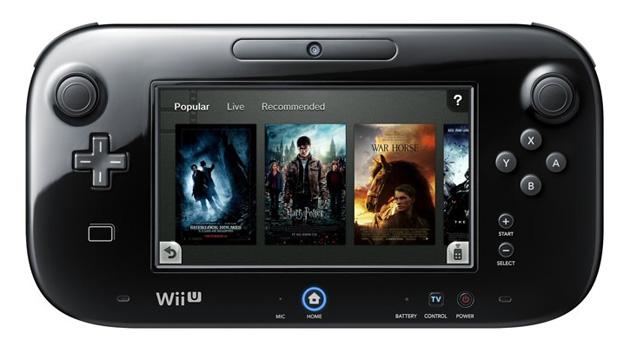 Nintendo TVii on a Wii U gamepad