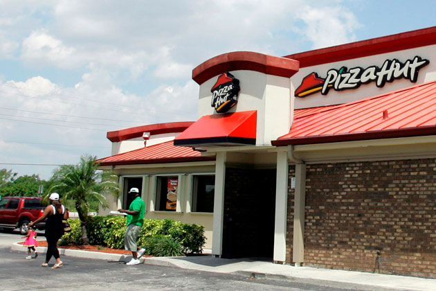 A Pizza Hut in Florida