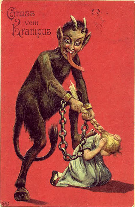Who is Krampus? The Origins of the Christmas Devil