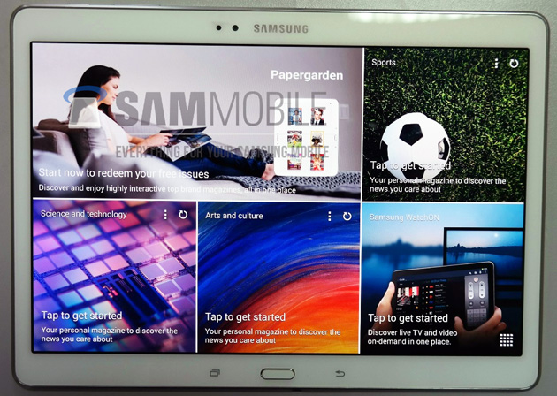 Samsung's rumored Galaxy Tab S