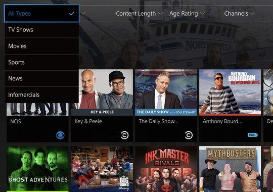 PlayStation VUE, il nuovo su richiesta di Sony ed ha trasmesso per radio il servizio della TV, lanci nel 2015