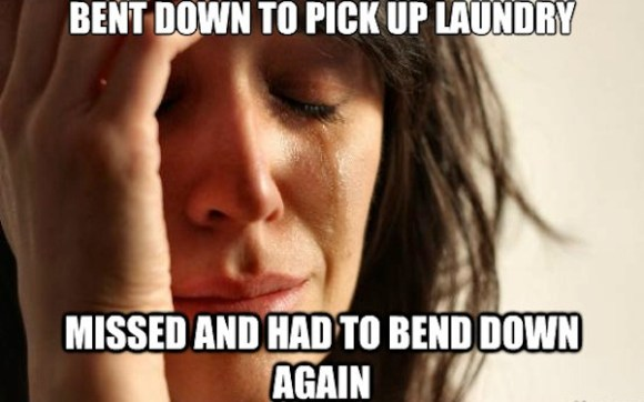 things that suck about being an adult, 10 things that suck about adulthood you never noticed as a kid, bent down laundry meme