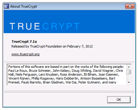 TrueCrypt development stopped amidst a cloud of mistery; it may resume