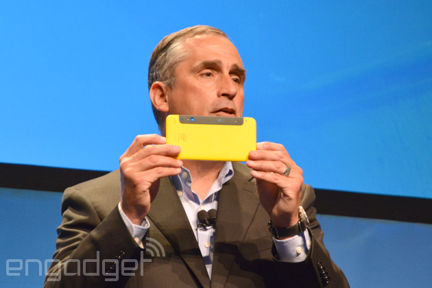 Intel RealSense on a smartphone prototype