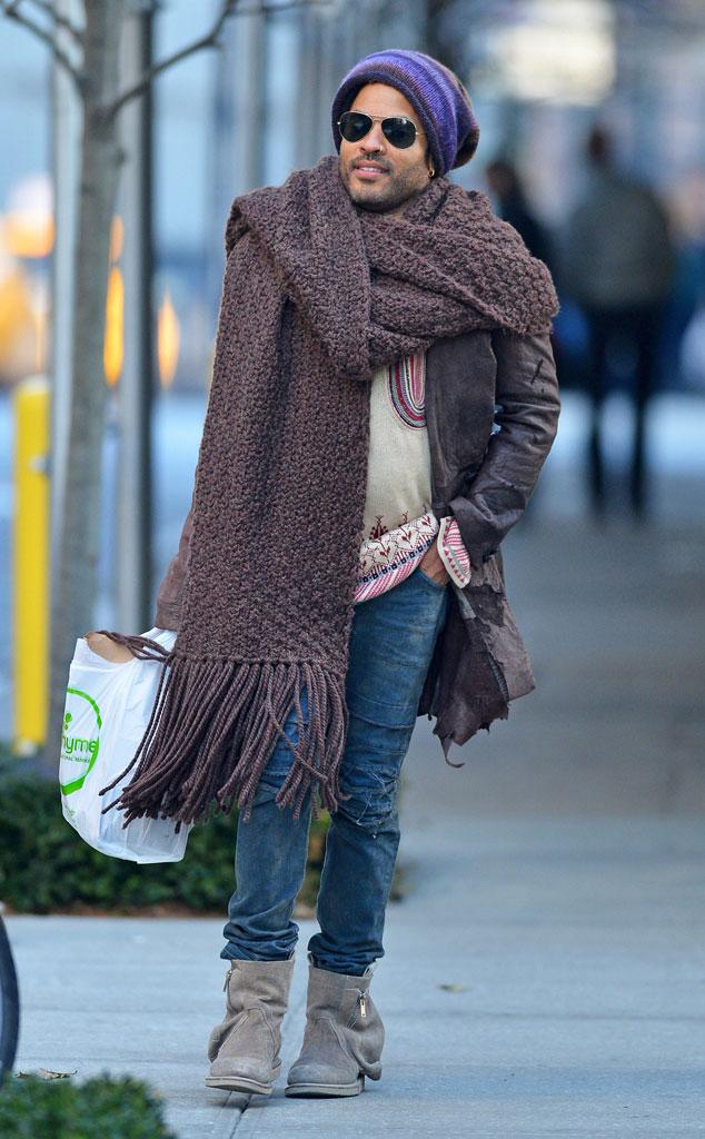 Imagini pentru man wearing huge scarf
